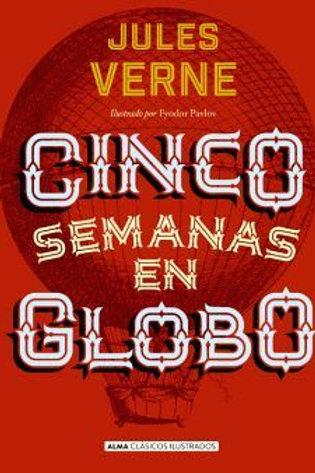 Cinco semanas en globo de Julio Verne