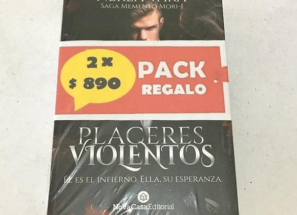 Pack Placeres violentos + La marca de Sara.