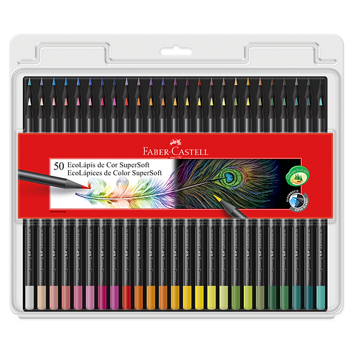 Lapices Supersoft x50 Faber-Castell