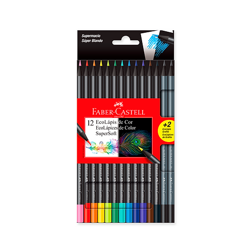 Lapices Supersoft x12 Faber-Castell