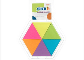 Block Notas Adhesivas 43x50 mm Puzzle