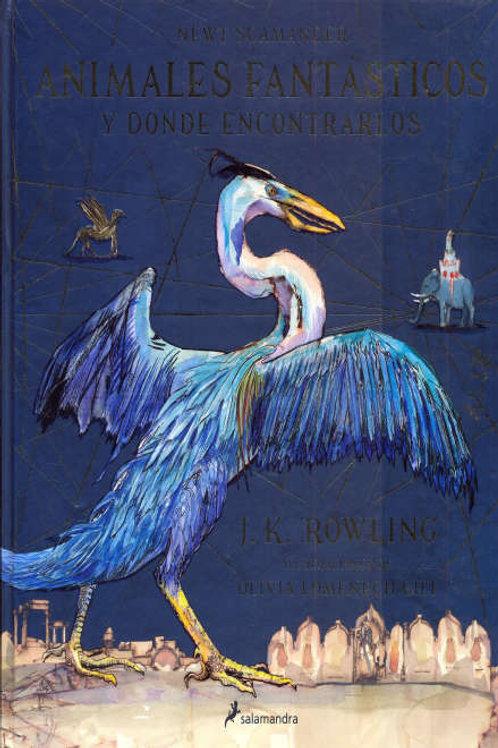 Animales fantásticos y donde encontrarlos de J. K. Rowling