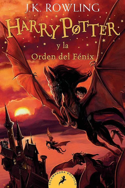 Harry Potter 5 ed. bolsillo.