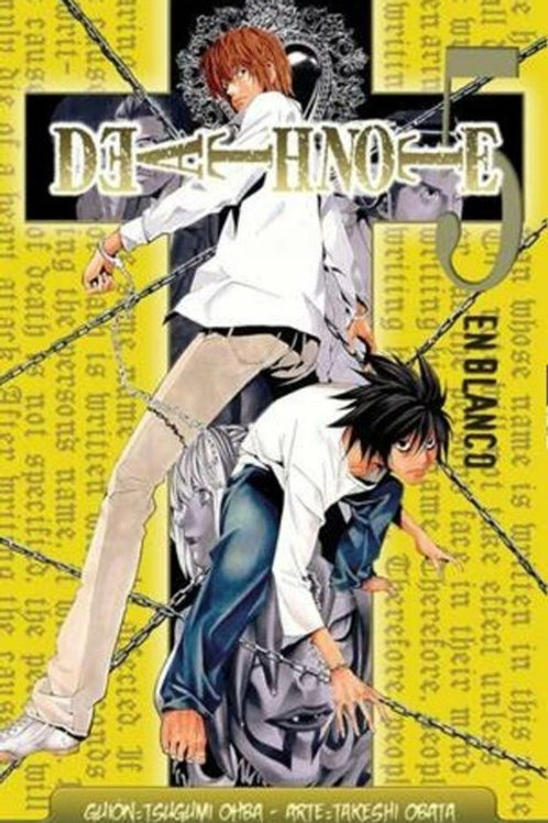 Death note 5. En blanco de Tsugumi Ohba