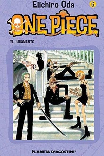 One Piece Vol. 6  el juramento de Eiichiro Oda