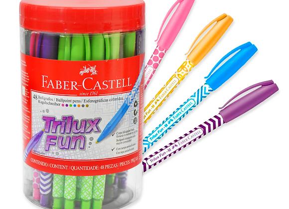 Boligrafo Trilux Fun Faber-Castell de 48
