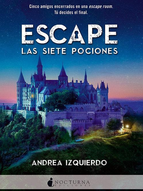 Escape: Las siete pociones de Andrea Izquierdo