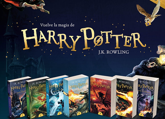 Harry Potter colección completa de bolsillo