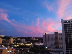 Beautiful skyline Tumon Guam USA