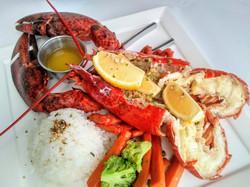 Yummy lobster Sea Grill Tumon