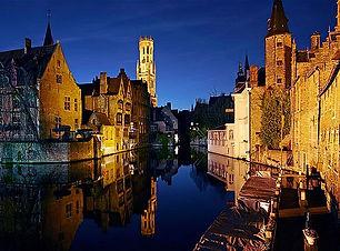 Belgium at Night