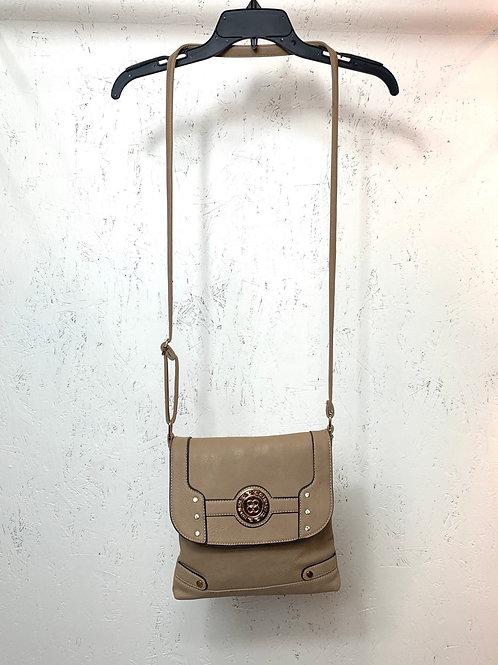 Tan crossbody purse
