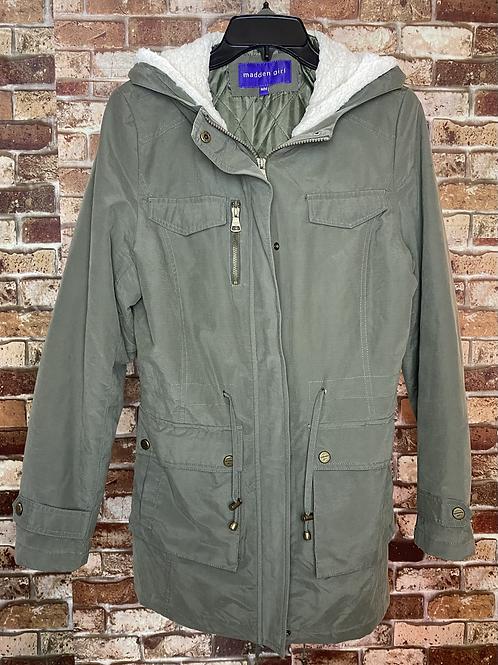 Madden Girl green cargo jacket