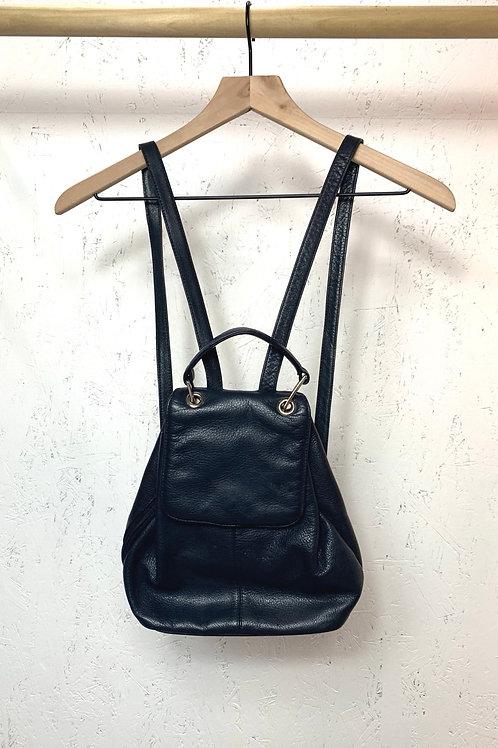 Valerie Stevens black backpack