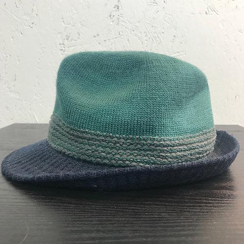 Fedora blue tones
