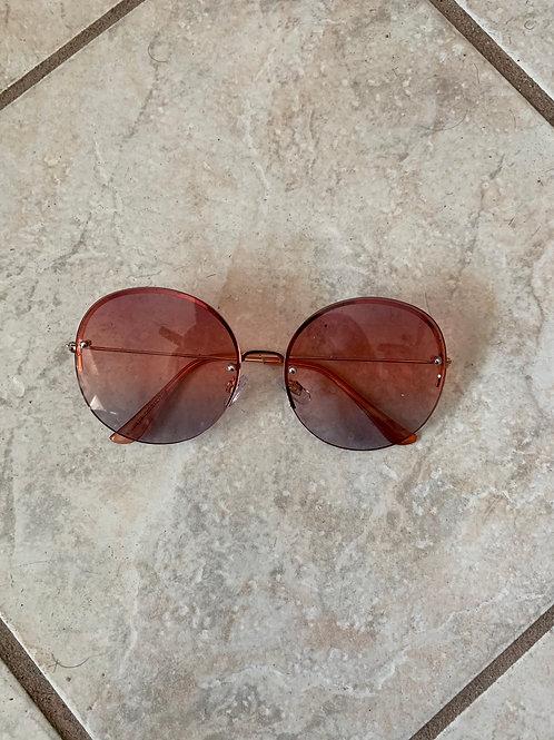 Pink Fade Sunglasses