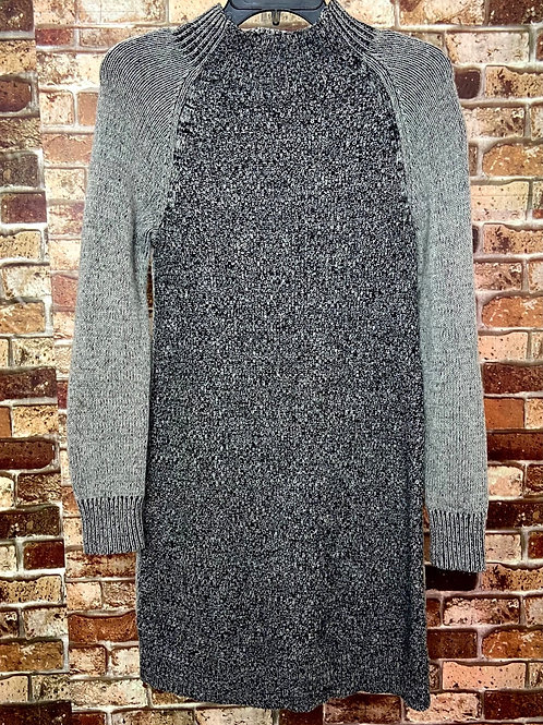 Cambridge grey and black knit sweater