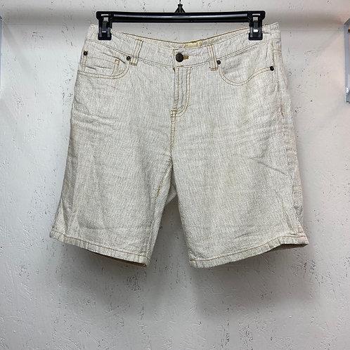 GH Bass & co tan striped shorts (6)