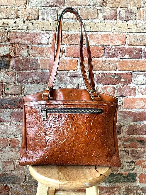 Patricia Nash Brown Leather Purse