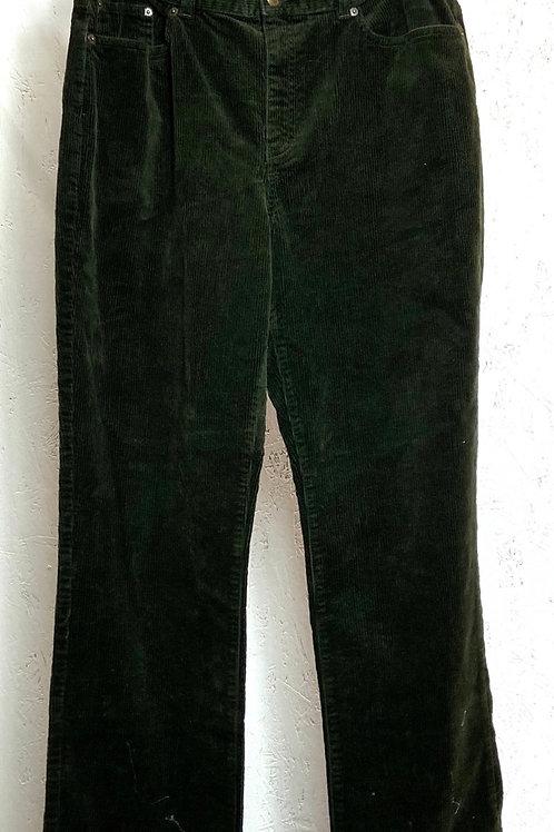 Ralph Lauren green corduroy