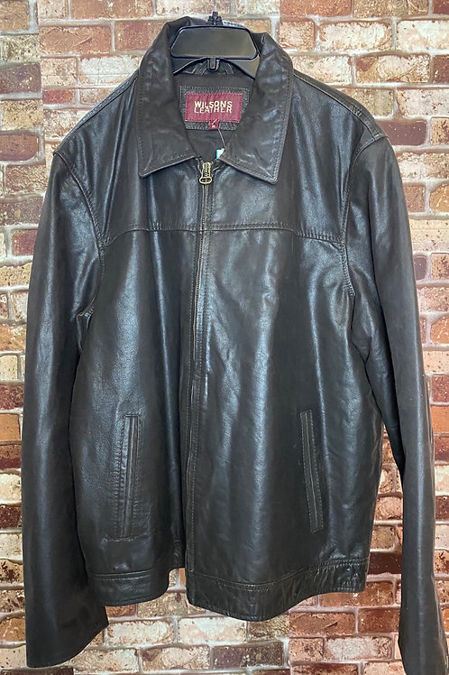 Wilson Leather brown leather jacket