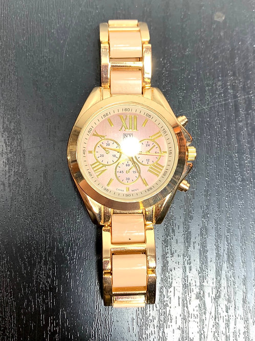 NY&Co. Pink and gold watch