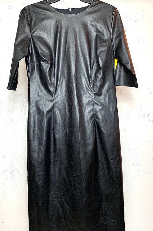 Flo Atelier leather dress