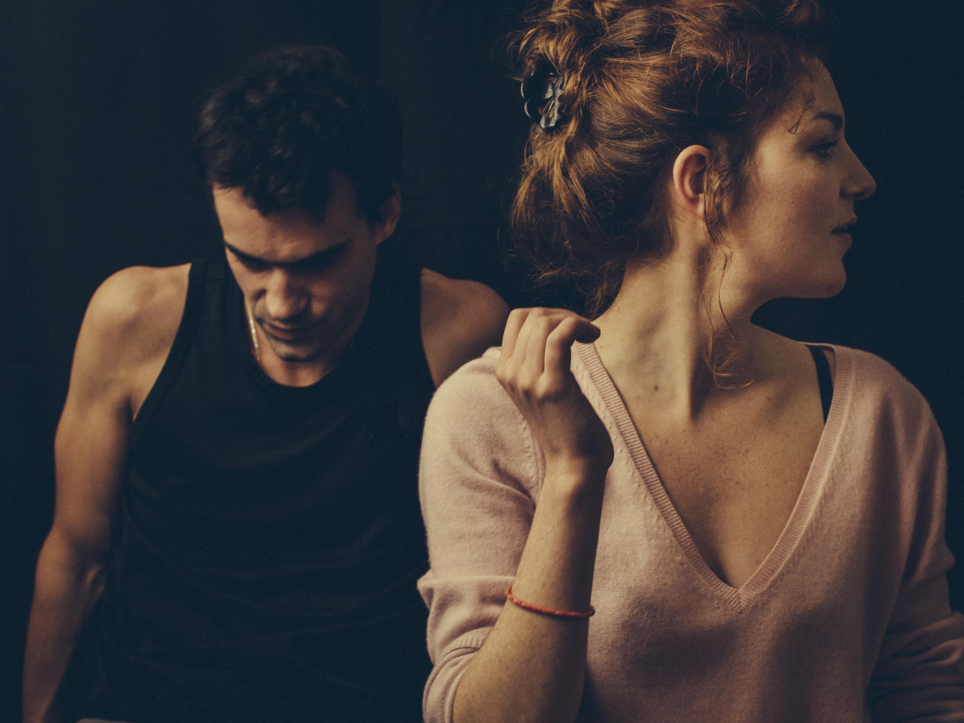 Visuel Presque l'amour / Nov. 2014