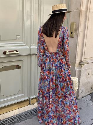 Robe Lara Bleuté