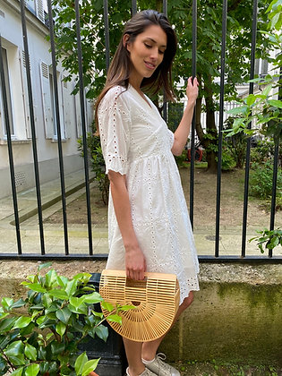 Robe Emma blanche