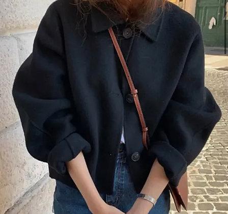 Pré commande Manteau Carry noir