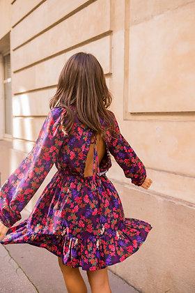 Robe Miranda Red/Violet