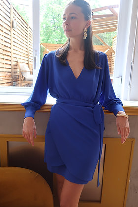 Robe Edwige bleu