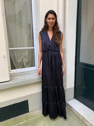 Robe Ana SM bleu nuit