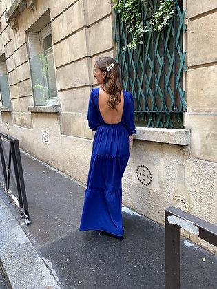 Robe Lara Bleu Electrique