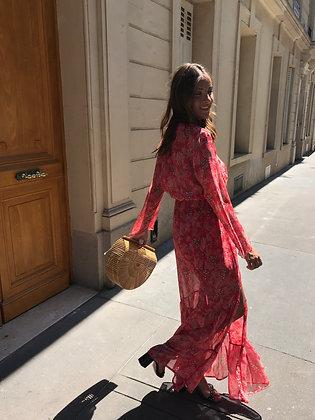 Robe Ana Rouge/Corail
