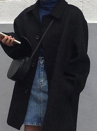 Manteau Mela noir