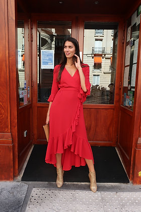 Robe Lilou Rouge