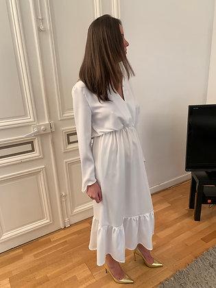 Robe Anais blanche