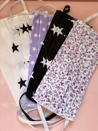 Lot de 5 Masques Stars