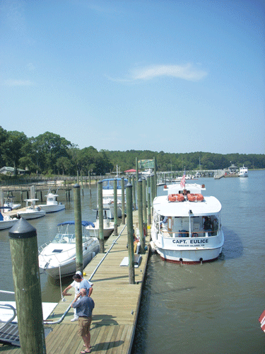 Freeport Marina on Daufuskie Island