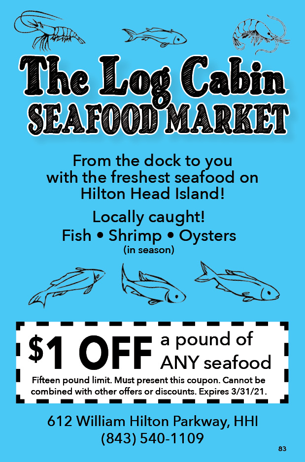 The Log Cabin Seafood Market