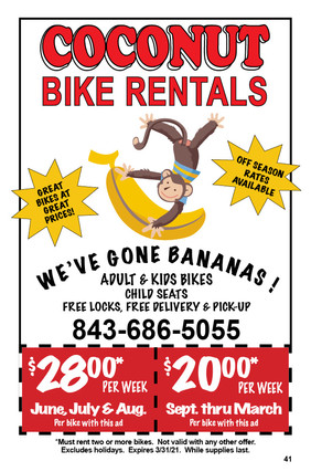 Coconut Bike Rentals