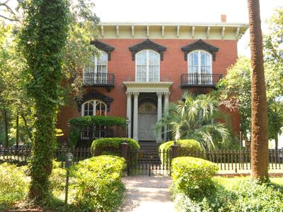 Mercer-Williams House in Savannah, GA
