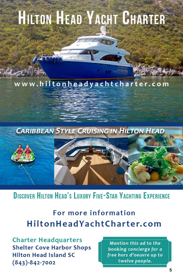 Hilton Head Yacht Charter