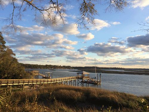 May River at sunset