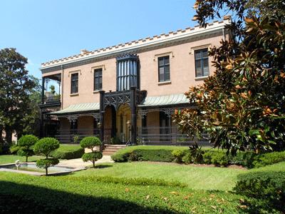 Green-Meldrim House Museum in Savannah, GA