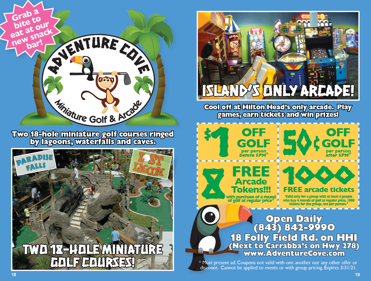 Adventure Cove Miniature Golf & Arcade