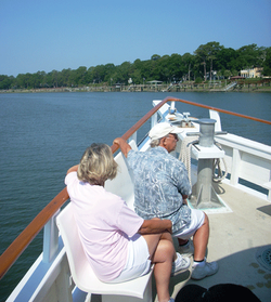 Getting to Daufuskie by boat
