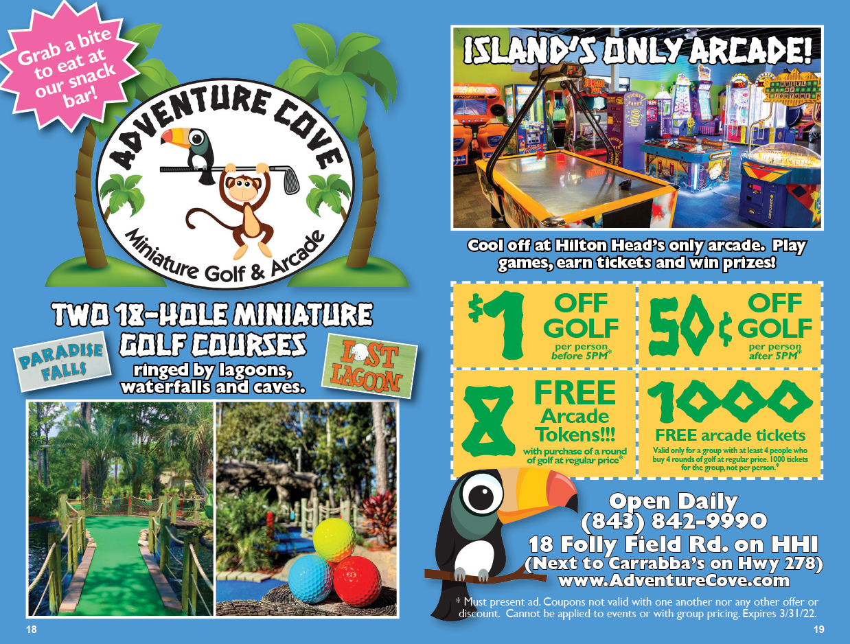 Adventure Cove Miniature Golf and Arcade